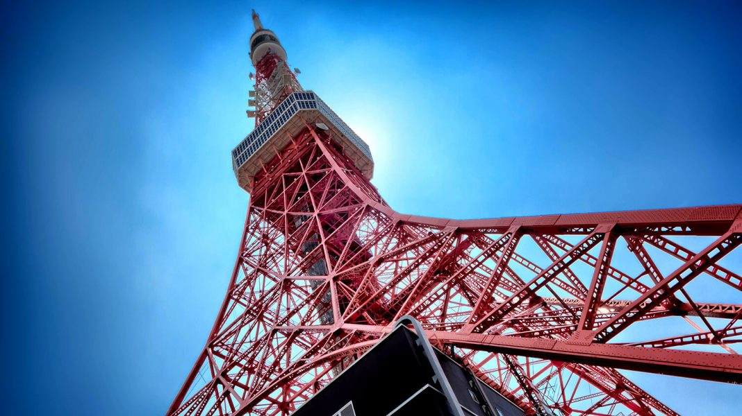 Tokyo Tower, Tokyo, Giappone