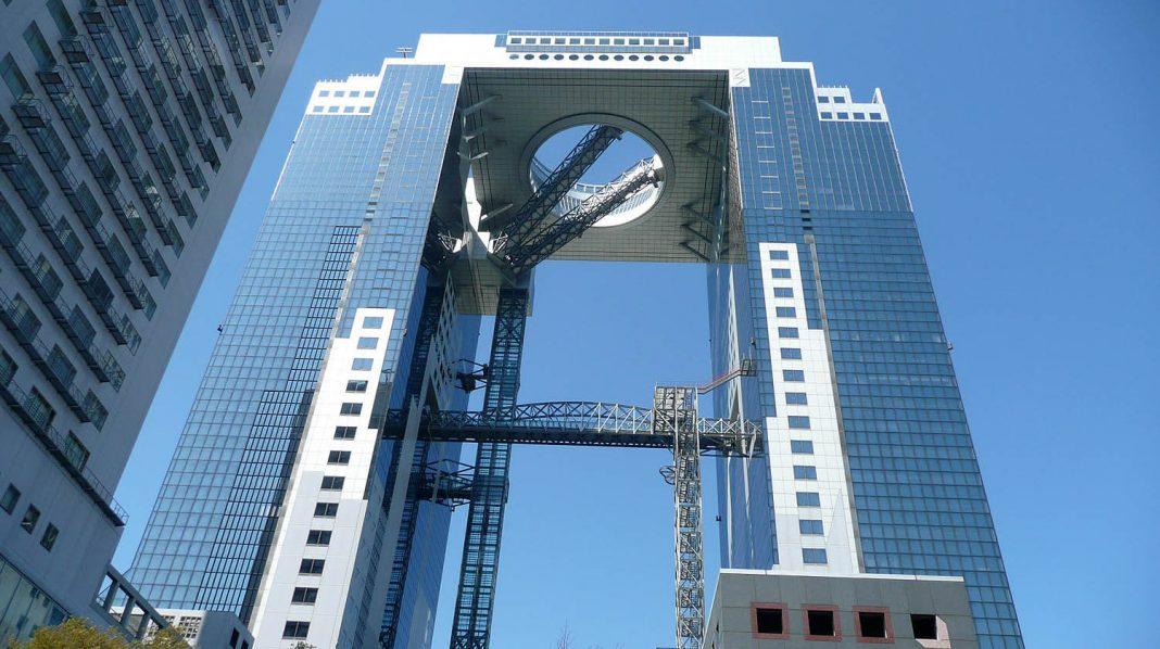 Umeda Sky Building di Osaka, Giappone