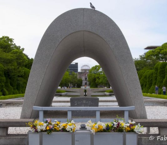 Peace Memorial Park, Hiroshima, Giappone