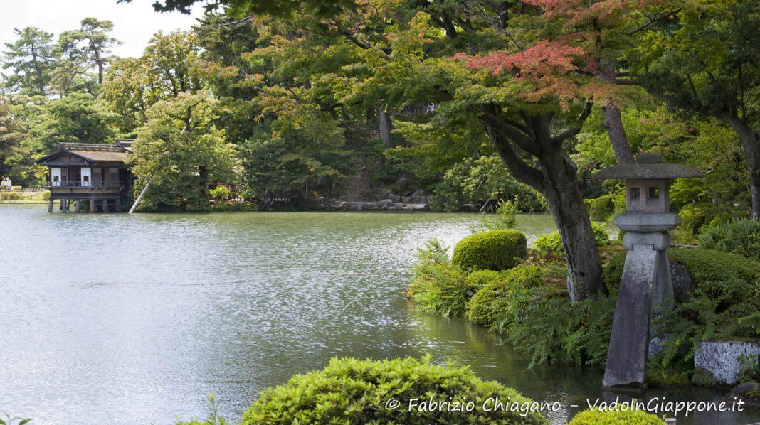 kanazawa giardino kenrokuen