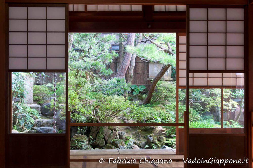 Giardino della casa del samurai Nomura, Kanazawa, Giappone