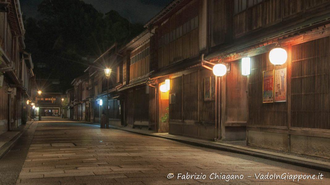 Higashi Chaya, Kanazawa, Giappone