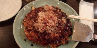 Okonomiyaki, Cibi e cucina giapponese