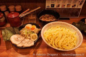 Il miglior Ramen Tsukemen che ho mai mangiato in Giappone, Tokyo, Giappone