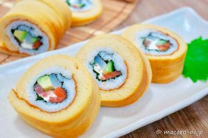 Datemaki, Sushi, Cibi e cucina giapponese