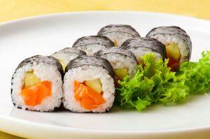 Maki, Sushi, Cibi e cucina giapponese