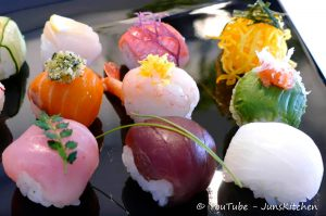 Temari-zushi, Sushi, Cibi e cucina giapponese