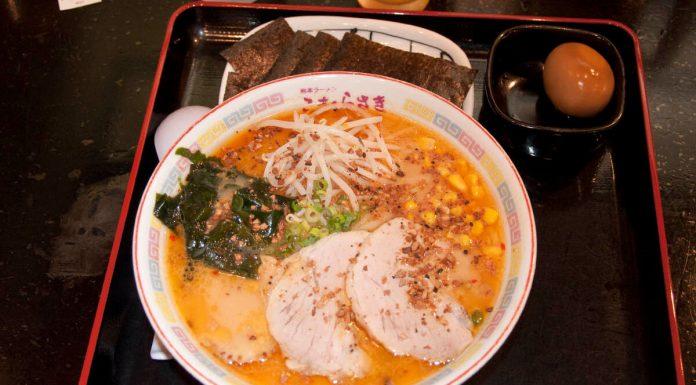 Un ottimo piatto di Ramen al Museo del Ramen di Yokohama