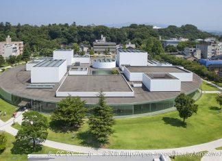 Museo del XXI secolo di arte contemporanea, Kanazawa, Giappone