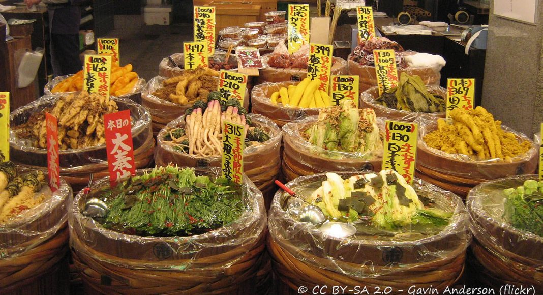 Tsukemono, Cibi e cucina giapponese