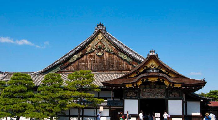 Castello di Nijo, Kyoto, Giappone