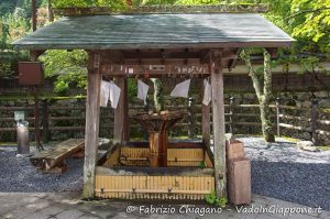 Chōzuya o Temizuya, Templi e Santuari