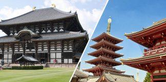 Caratteristiche dei templi Buddhisti in Giappone