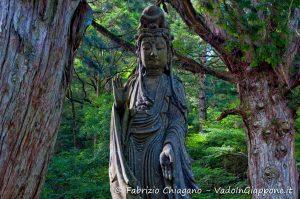 Bodhisattva Kannon, Koyasan, Giappone