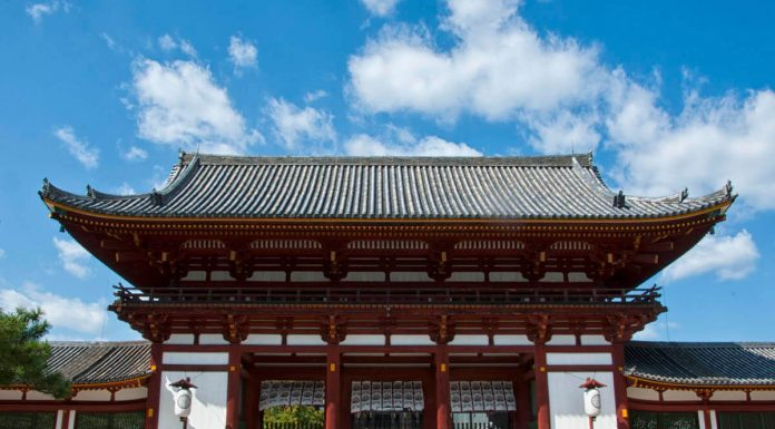 Sanmon del tempio Todai-ji, Nara, Giappone