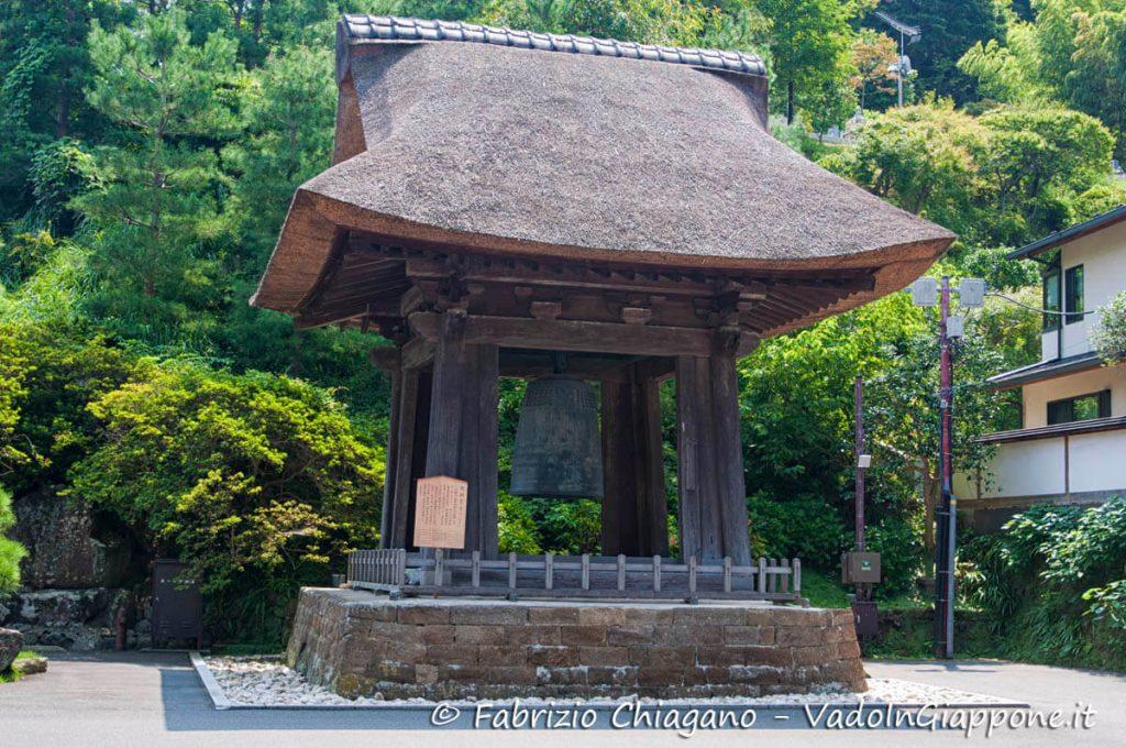 Bonsho del tempio Kencho-ji, Kamakura, Giappone