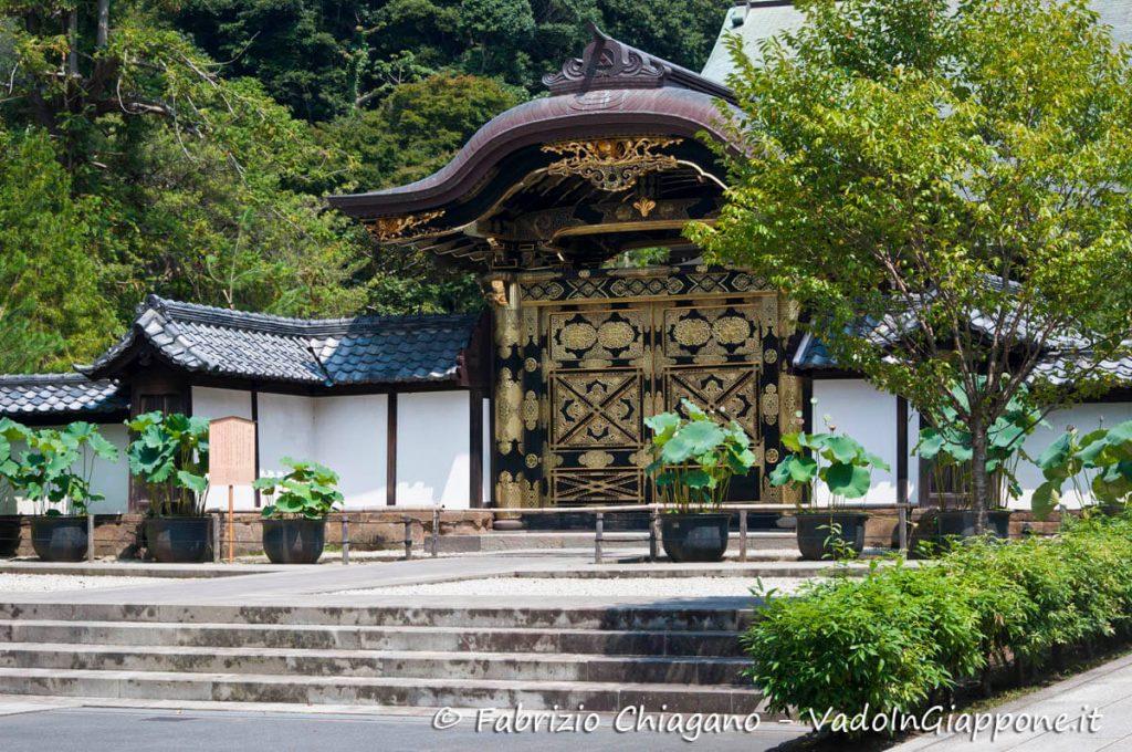 Dettaglio del Kencho-ji, Kamakura, Giappone