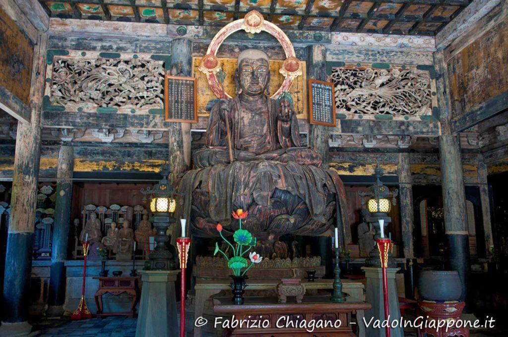 Statua di Jizo del tempio Kencho-ji, Kamakura, Giappone