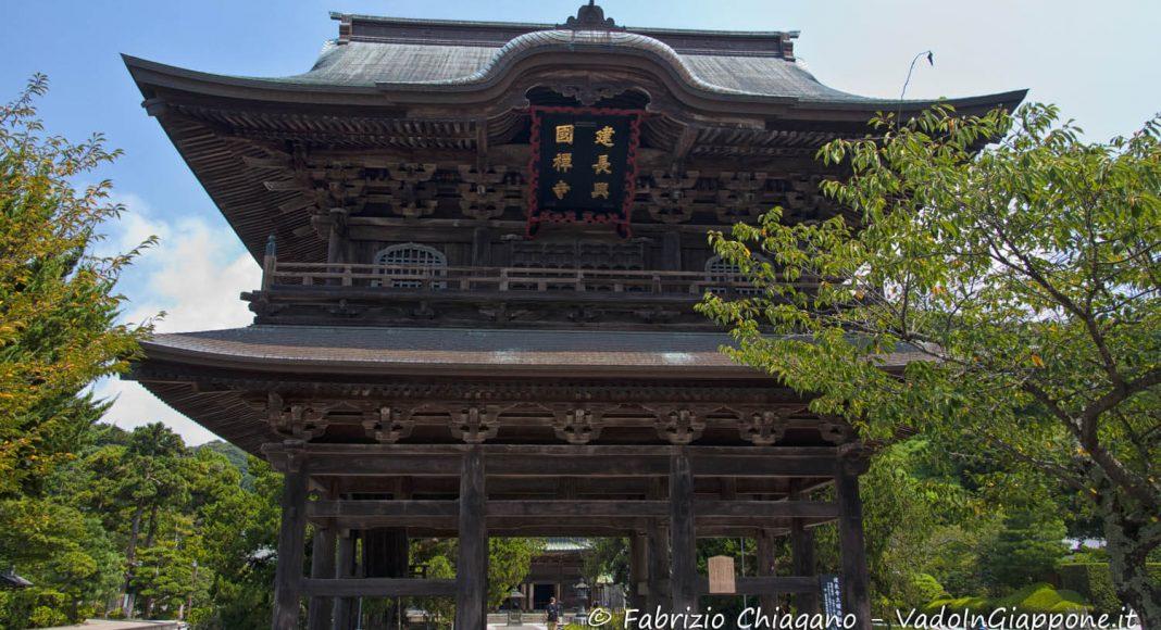 Tempio Kencho-ji, Kamakura, Giappone