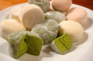 Yukimi Daifuku e Ice cream Mochi, Cibi e cucina giapponese