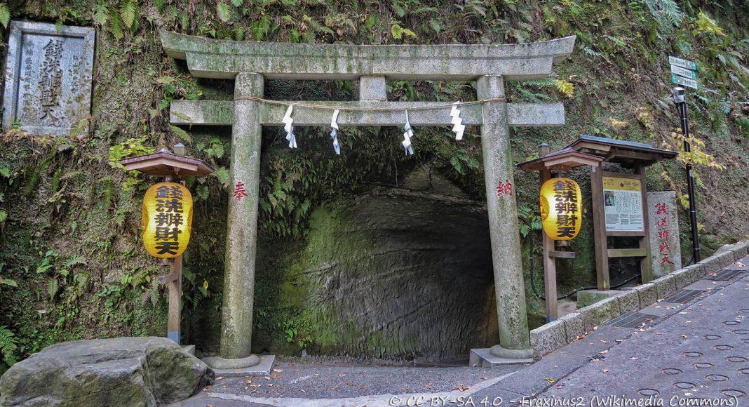 Santuario Zeniarai Benten, Kamakura, Giappone