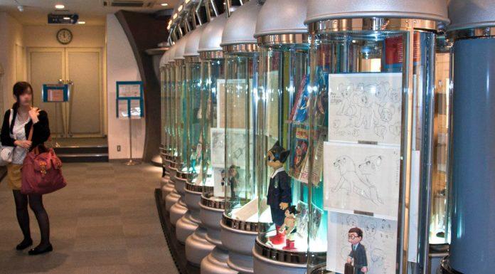 Una delle sale principali del Tezuka Osamu Manga Museum