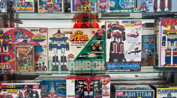 Robot in vendita a Radio Kaikan, Akihabara, Tokyo