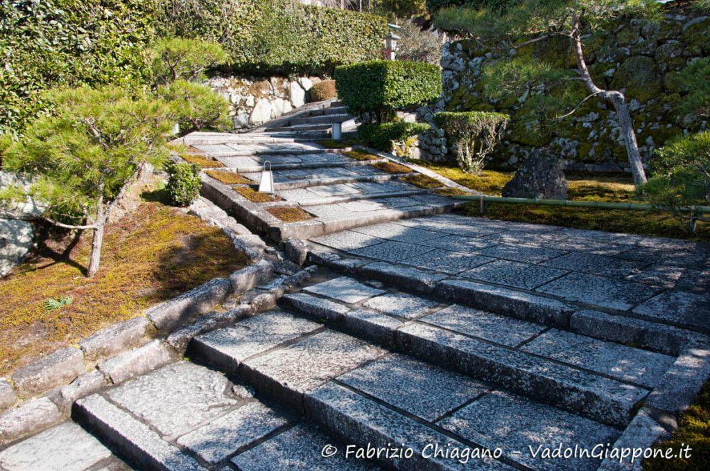 Ingresso del Tempio Enkoji, Kyoto, Giappone