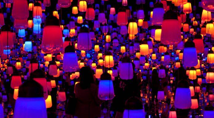La Foresta delle Lanterne nel MORI Building DIGITAL ART MUSEUM