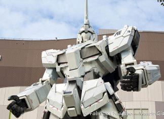 Statua di Gundam ad Odaiba, Tokyo, Giappone