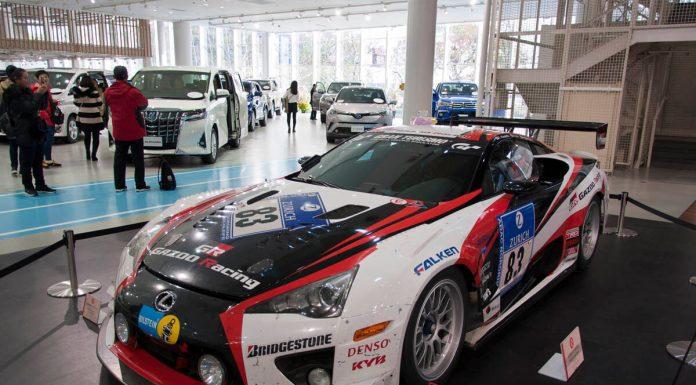 Esposizione auto al Mega Web Toyota City, Odaiba, Tokyo