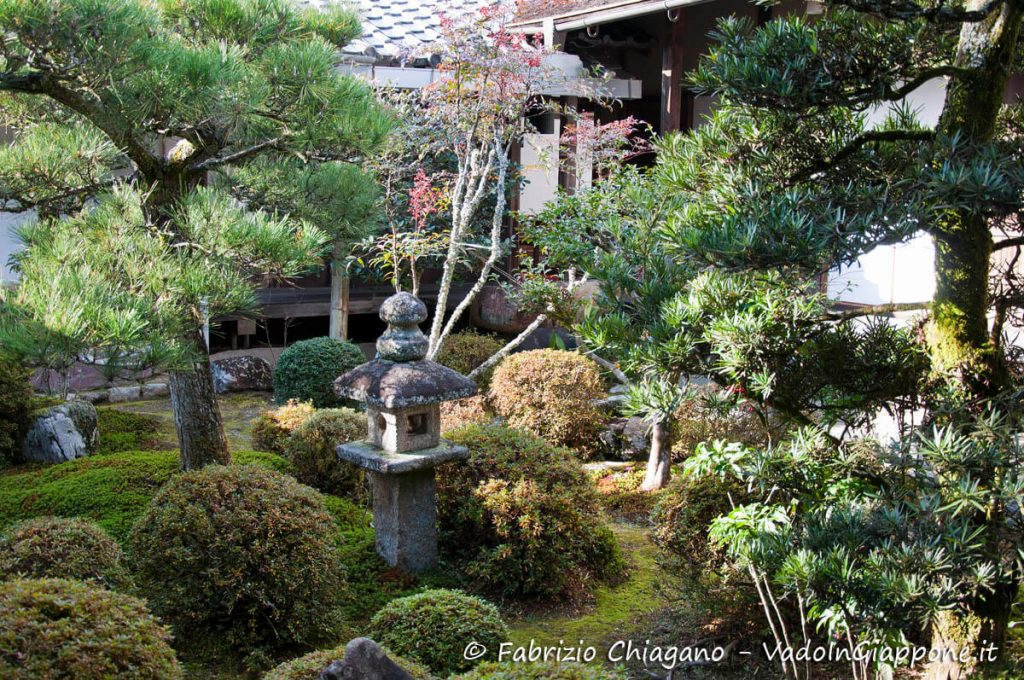 Giardino interno del tempio Manshuin-Monzeki