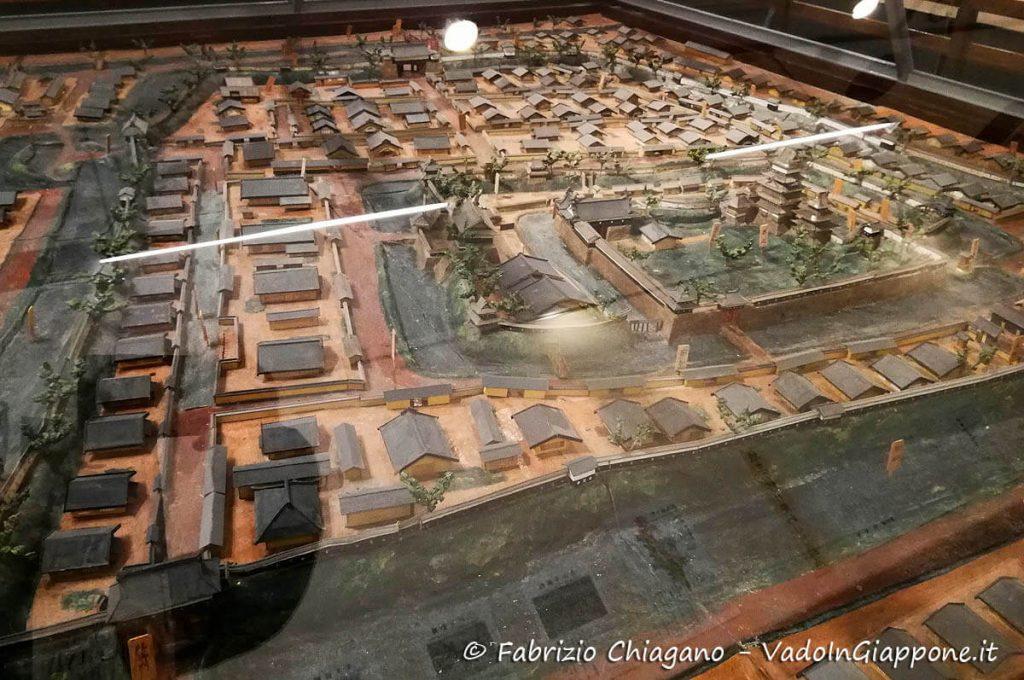 Diorama di Matsumoto, City Museum, Giappone