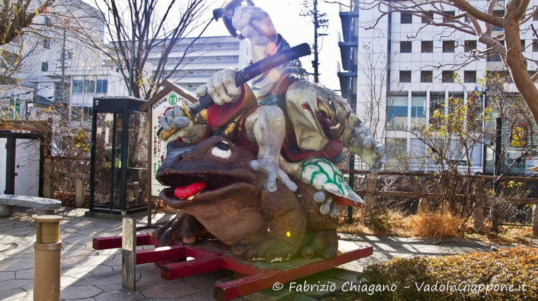Nakamachi e Nawate, Matsumoto, Giappone
