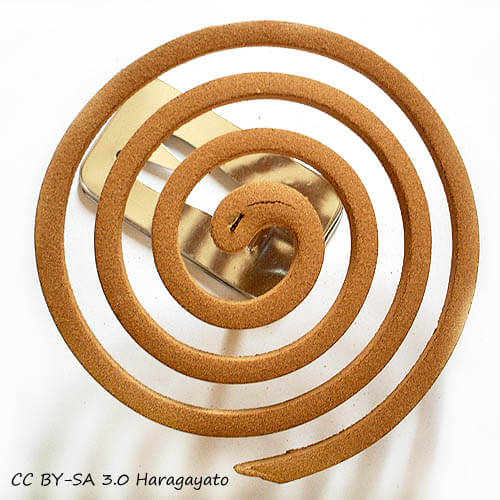 Incenso a forma di spirale