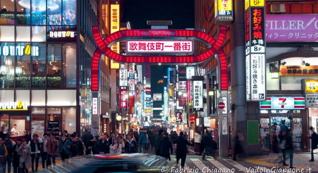 Kabukicho e Golden Gai, Shinjuku, Tokyo, Giappone