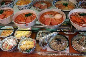 Repliche di cibo giapponese ad Kappabashi-dori, Tokyo