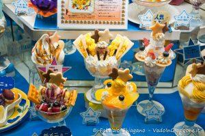 Riproduzioni di super gelati a Tokyo