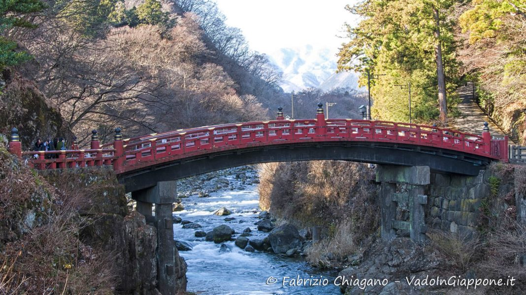 Ponte Shinkyo, Nikko, Giappone