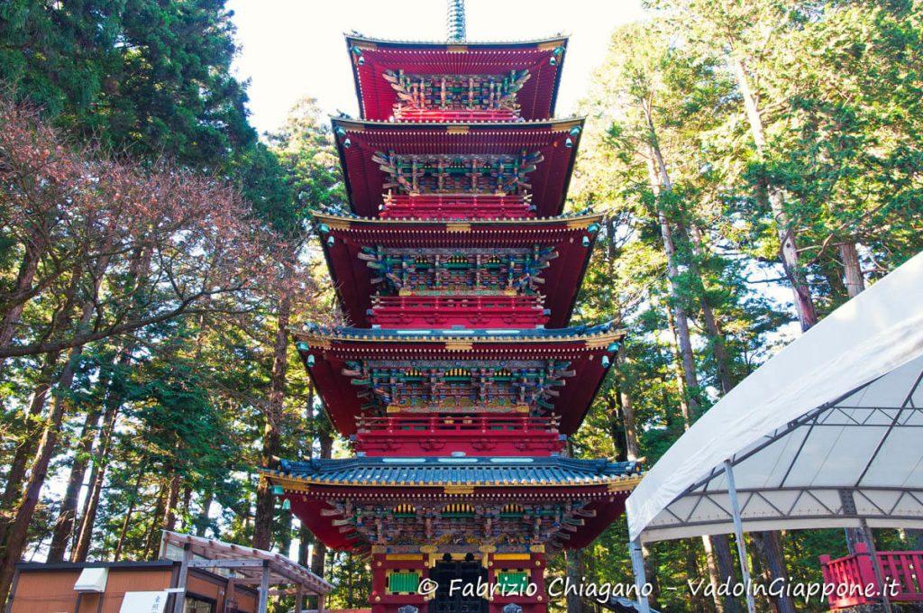 Pagoda subito prima dell'ingresso al Santuario Toshogu