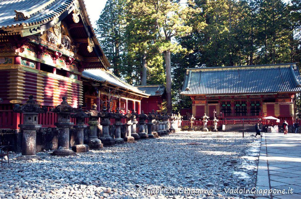 Area d'ingresso al Santuario Toshogu a NIkko