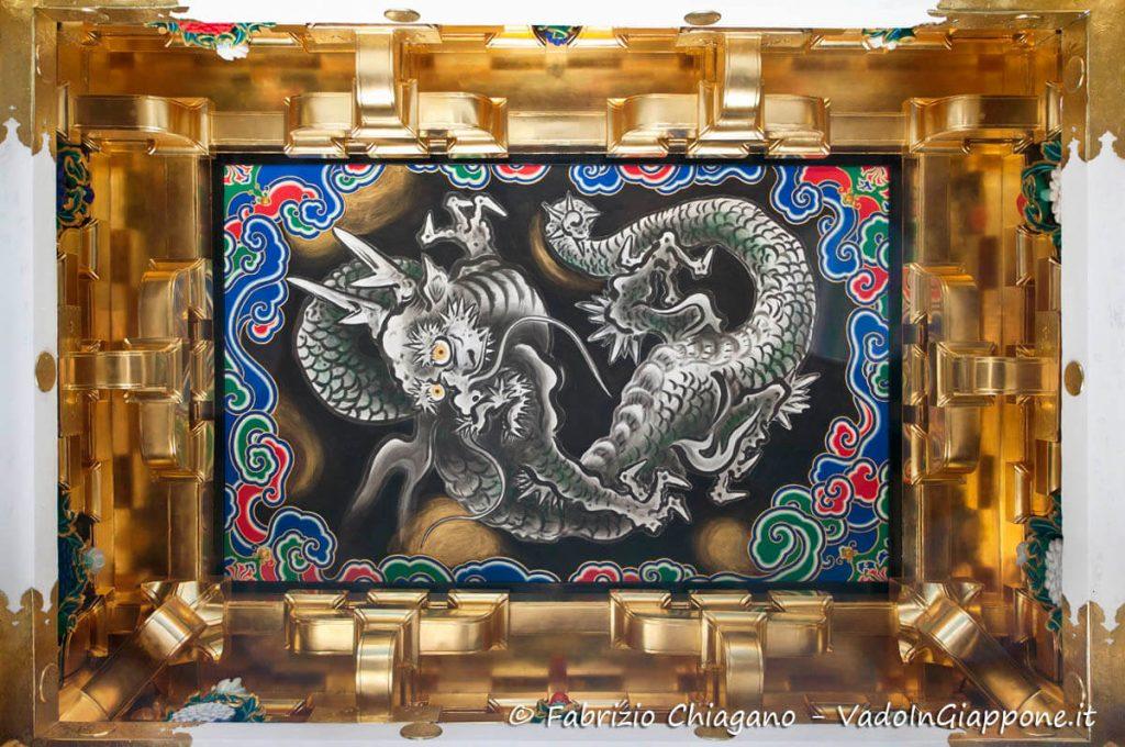 Dettaglio della porta Yomeimon del Santuario Toshogu