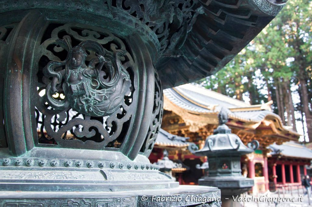 Particolare del Taiyuinbyo di Nikko