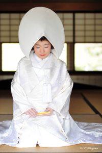 Kimono kakeshita shiromuku