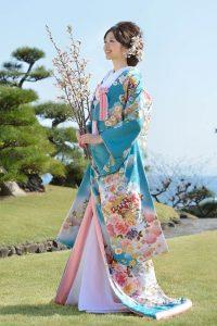 Kimono kakeshita