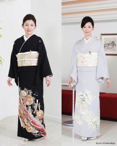 Kimono tomosode