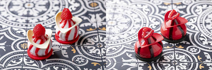 Alcuni dolci a tema Alice in Rose Labyrinth