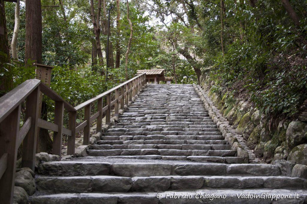 Interno del Geku, il Santuario Esterno di Ise