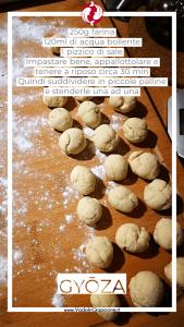 Ricetta Gyoza: Ingredienti per la pasta