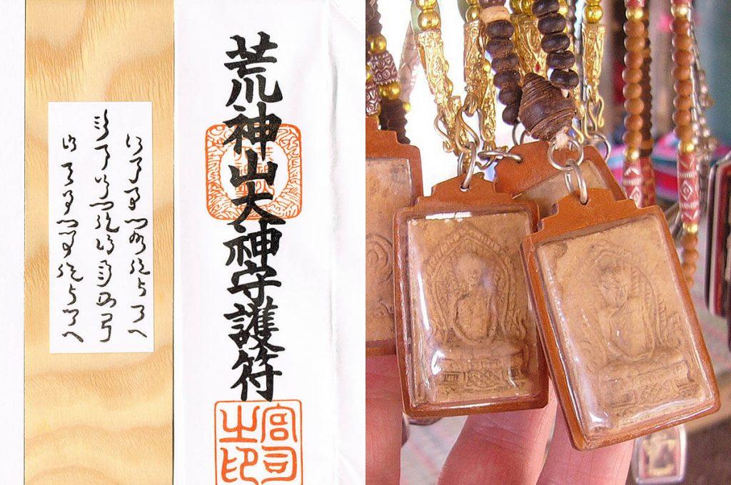 Ofune e talismani buddisti che hanno originato gli omamori